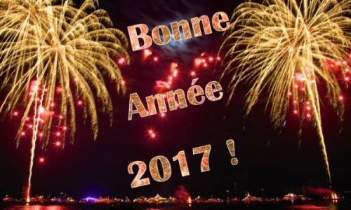 Une très Bonne et Heureuse Année 2017